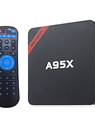 economico -NEXBOX A95X Android 6.0 Box TV Mali-450 MP 2GB RAM 16GB ROM Quad Core