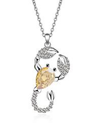 Dámské Náhrdelníky s přívěšky Šperky Animal Shape Šperky Křišťál Slitina Jedinečný design Módní Euramerican Šperky Pro Párty Ostatní