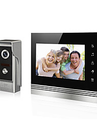 cheap -7 inch  LCD Screen Video Doorbell Video Door Phone for Intercome Door Entry System
