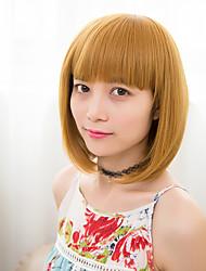 cheap -Popular Ombre Color BOBO Straight Hair European Synthetic Wigs