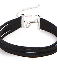 cheap -Women's Choker Necklace - Lace Vintage, Euramerican Black Necklace For Party, Birthday, Daily