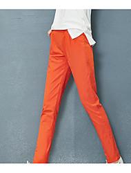 2017 pantaloni di cotone punto segno femminile della molla nuovo i piedi per il tempo libero sottili allentate le donne in vita harem