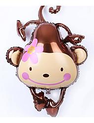 Недорогие -Воздушные шары Игрушки Обезьяна Надувной Для вечеринок Не указано 1 Куски