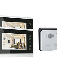 ACTOP High Quality Touch Button Video Door Intercom With Door Release