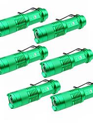 U'King Светодиодные фонари Светодиодная лампа 1500 lm 3 Режим Cree XP-E R2 Масштабируемые Фокусировка Походы/туризм/спелеология