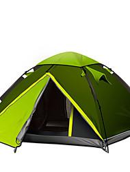 GAZELLE OUTDOORS 3-4 Pessoas Tenda Duplo Barraca de acampamento Um Quarto Tenda Automática Portátil Á Prova-de-Chuva para Campismo