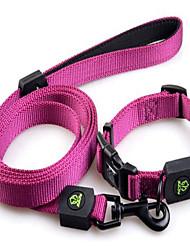cheap -Dog Leash Adjustable / Retractable Solid Nylon Orange Purple Green Pink