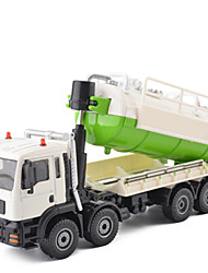 cheap -Garbage Recycling Truck Toy Truck Construction Vehicle Toy Car Pull Back Vehicle 1:50 Metal Unisex Kid's Toy Gift