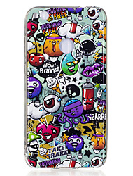 cheap -For Huawei P8 Lite(2017) P10 Case Cover Rubbish Pattern Luminous TPU Material IMD Process Soft Case Phone Case P10 Lite P9 Lite P8 Lite