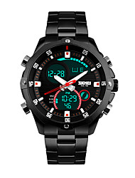cheap -SKMEI 1146 Men's Woman Watch Double Significant Outdoor Sports Watch Mountain Climbing Waterproof Electronic Watch Male LED Students Multi - Function