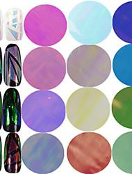 cheap -1pcs 100*4cm New Fashion Nail Art Transfer Foils Sticker Colorful Design Transparent Sweet Glass Decals Nail DIY Foils Nail Beauty Decoration BL01-18