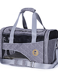 cheap -Cat / Dog Carrier & Travel Backpack Pet Carrier Portable / Breathable Geometic Gray / Red