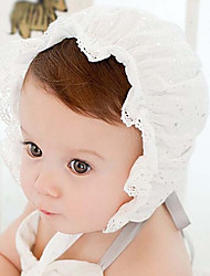 cheap -Children's One hundred embroidery lace cap princess breathable hollow out flowers Cap