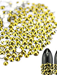 cheap -1 bag Fashion New Nail Art Gold Ore Rhinestone Nail Art Beauty Glitter Decoration Goldmine Rhinestone Nail Art Design