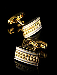 Luxury Shirt Cufflinks for Men's Brand Shirt Sleeve Cuff Buttons Gold Cuff links Gemelos Wedding Gifts Men Jewelry