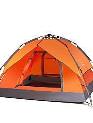LINGNIU® 3-4 persone Tenda Igloo da spiaggia Doppio Tenda da campeggio Una camera Tenda automatica per Campeggio CM