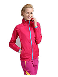 Women's Hiking Jacket Thermal / Warm Quick Dry Ultraviolet Resistant Breathable Top for Camping / Hiking Fishing Spring Summer Fall/Autumn