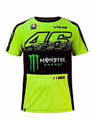 cheap -MotoGP T-shirt riding suits motorcycle VR46 Knight Locy cotton short-sleeved racing suit T-shirt
