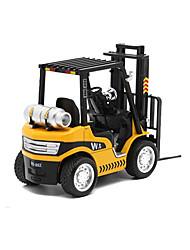 abordables -Véhicule de Construction Chariot Elévateur Camions Véhicules de Construction Petites Voiture Véhicules à Friction Arrière 01h32 Métal 1pcs