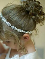 cheap -Crystal Rhinestone Fabric Headbands Headpiece Classical Feminine Style