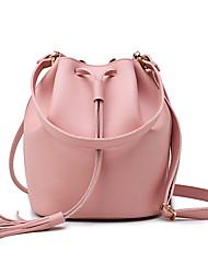 Women Bags All Seasons PU Shoulder Bag for Casual Blue Black Red Blushing Pink Beige
