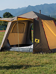 cheap -3-4 persons Tent Double Camping Tent One Room Fold Tent Rain-Proof for Hiking Camping Traveling CM