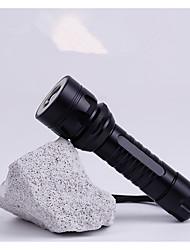 economico -Torce LED lm Modo Cree T6 pila inclusa Messa a fuoco regolabile Ricaricabile Facile da portare Campeggio/Escursionismo/Speleologia Uso