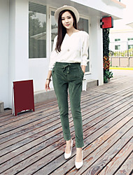 firmare le donne Hitz&# 39; s pantaloni di velluto vita harem pantaloni casual pantaloni pantaloni
