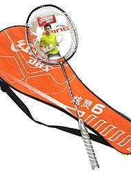 Raquetes para Badminton Pouco Atrito ao Vento Durável Leve Um Par para