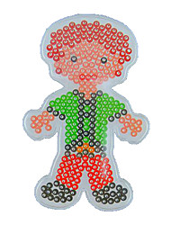 cheap -1PCS Template Clear Perler Beads Pegboard Man Father Papa Pattern for 5mm Hama Beads Fuse Beads