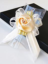 preiswerte -Hochzeitsblumen Sträuße Armbandblume Anderen Künstliche Blumen Hochzeit Party / Abend Material Spitze Satin 0-20cm