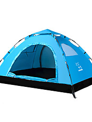 Недорогие -LINGNIU® 2 человека Световой тент На открытом воздухе Хорошая вентиляция Ультрафиолетовая устойчивость Палатка для Походы