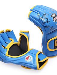 Boxhandschuhe Boxhandschuhe für das Training MMA-Boxhandschuhe für Boxen Kampfsport Mixed Martial Arts (MMA) FingerlosWasserdicht