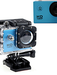 cheap -Sports Action Camera 16MP 1280 x 720 1920 x 1080 640 x 480 USB Adjustable G-Sensor Waterproof LED All in One Wide Angle 60fps No 2.0 inch