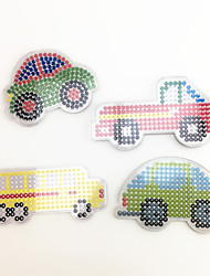 cheap -Toy Cars Jigsaw Puzzle Art & Drawing Toy Educational Toy Truck Toys DIY Car Bus Truck Plastic EVA Pieces Not Specified Children's Gift