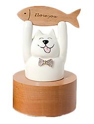 Недорогие -музыкальная шкатулка Игрушки Кошка Керамика Куски Универсальные Подарок