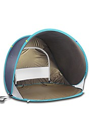 1 Pessoa Tenda Cabana de Praia Único Barraca de acampamento Um Quarto para Campismo Viajar CM