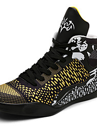 Couple Shoes Basketball Shoes Fashion Light Microfiber Breathable Shoes Medium Top