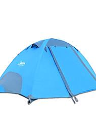 economico -DesertFox® 2 persone Tenda Doppio Tenda da campeggio Una camera Tenda ripiegabile Ompermeabile Anti-pioggia per Campeggio 2000-3000 mm CM