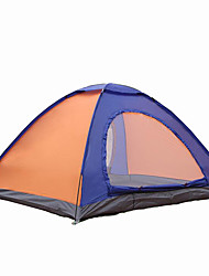 2 persons Tent Double Camping Tent One Room Fold Tent Waterproof Portable Windproof Ultraviolet Resistant Rain-Proof Anti-Insect