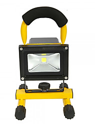 HKV® 1Pcs 10W 900-1000LM White Light Portable Chargable Flood Light Emergency Lights LED Floodlight AC 85-265V