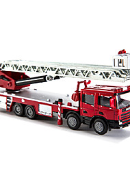 cheap -Fire Engine Vehicle Toy Truck Construction Vehicle Toy Car 1:50 Plastic Metal Girls' Boys' Kid's Adults' Toy Gift