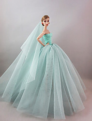 cheap -Party/Evening Dresses For Barbie Doll For Girl's Doll Toy