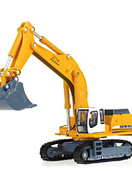 Недорогие -KDW Гоночная машинка Экскаватор Игрушечные грузовики и строительная техника Игрушечные машинки Машинки с инерционным механизмом 1:32