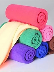 30*60CM Strong Absorbent Towel Dry Fast Car Wash Towel (Random Colors)