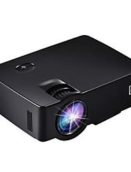 LCD WVGA (800x480) Projektor,LED 1800 Tragbar HD Projektor