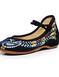 Da donna-Oxford-Tempo libero Ufficio e lavoro Casual Formale-Comoda Innovativo Scarpe ricamati-Piatto Quadrato-Di corda-