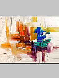 cheap -Hand-Painted Modern Abstract Oil Painting On Canvas Wall Art Pictures For Home Decoration Ready To Hang