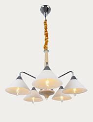 cheap -Modern/Contemporary Traditional/Classic Mini Style Designers Chandelier Ambient Light For Living Room Bedroom Dining Room Study