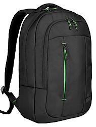 abordables -1680d bolso de escuela del hombre del paño grueso y suave 15 15.4 15.6 pulgadas del ordenador portátil mochila cubierta protectora de la